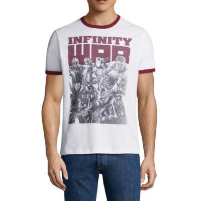 Avengers Infinity War Ringer Graphic Tee