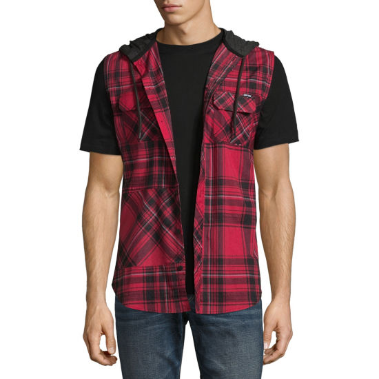 Zoo York Sleeveless Button-Front Shirt