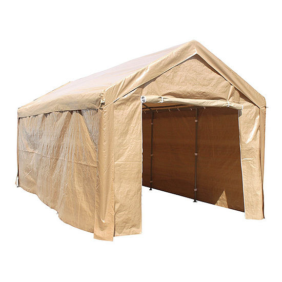 ALEKO Outdoor Gazebo Carport Canopy Tent with Sidewalls