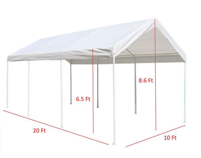 ALEKO Outdoor Carport Gazebo Party Tent