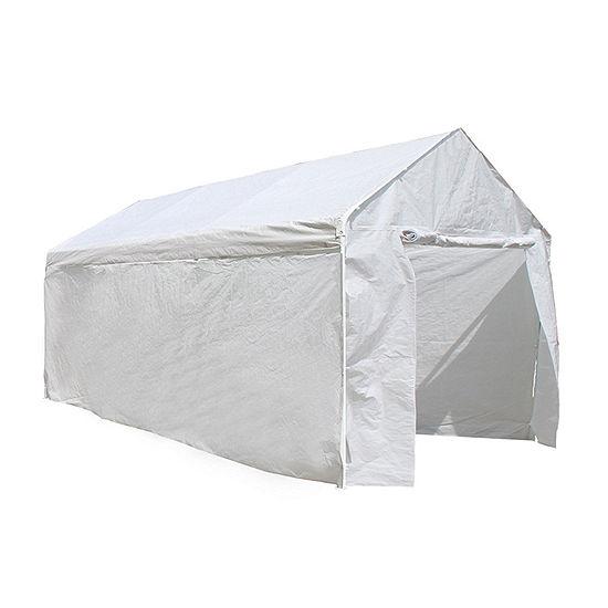 ALEKO Outdoor Carport Kit Gazebo Party Tent with Removable Walls