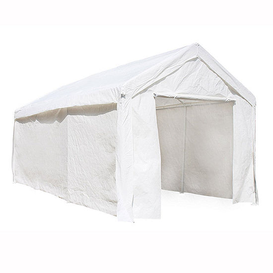 ALEKO Outdoor Gazebo Carport Canopy Tent with Sidewalls