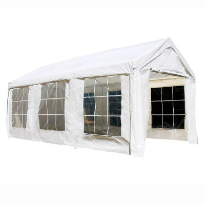 ALEKO Outdoor Gazebo Canopy Tent with Sidewalls