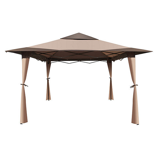 ALEKO Double Roof Patio Gazebo Picnic Sun Shade Canopy