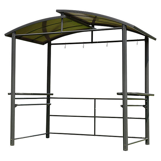 ALEKO Outdoor Gazebo with Serving Tables