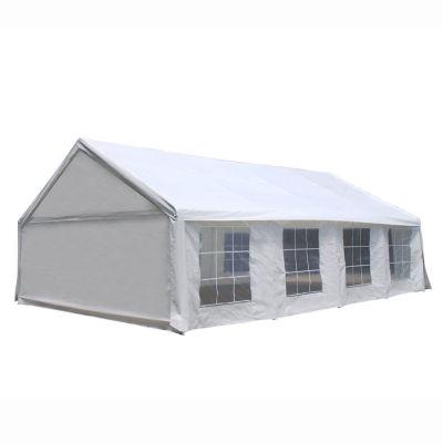 ALEKO Outdoor Canopy Patio Tent Sun Shade Gazebo with Windows