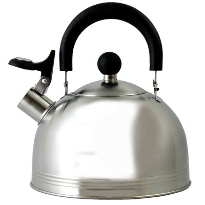 Mr. Coffee Carterton 1.5 Qt Stainless Steel Whistling Tea Kettle