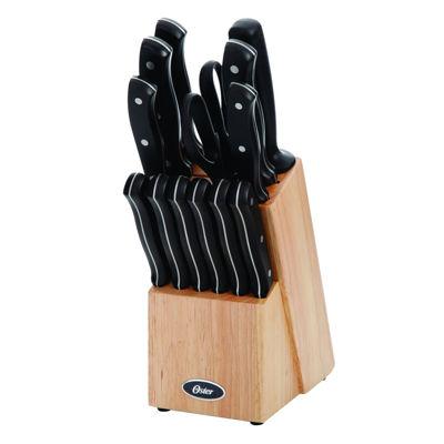 Oster Evansville 14 piece Cutlery Set in Matte Black