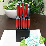 Oster Lindbergh 14 piece Cutlery Set in Red