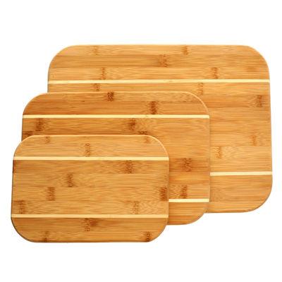 Dewport 3 pc Bamboo Cutting Board Set