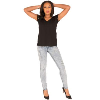 Poetic Justice Curvy Skinny Jean
