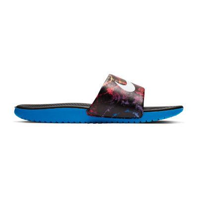 Nike Nk Kawa Slide Gs Little Kid/Big Kid Boys Walking Shoes Slip-on