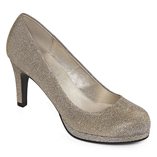 CL by Laundry Womens Nidia Round Toe Stiletto Heel Pumps