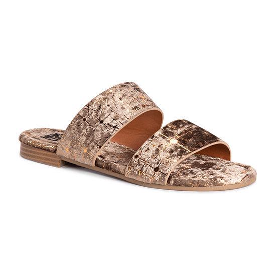 Muk Luks Womens Baylee Flat Sandals