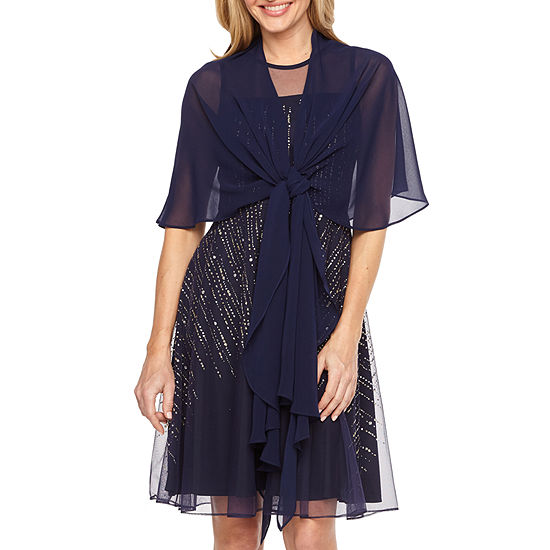J Taylor Womens Multi Way Shawl Cover-Up