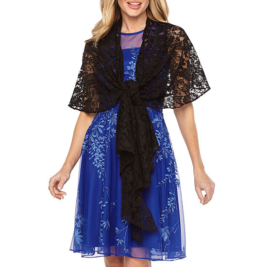 J Taylor Womens Lace Multi Way Cover Up