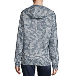 Columbia Flash Forward Hooded Water Resistant Lightweight Windbreaker