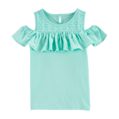 Oshkosh Girls Short Sleeve Tunic Top - Preschool