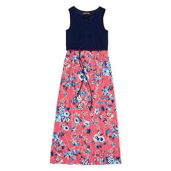 d5806cf84 Trixxi Girl Belted Sleeveless Floral Maxi Dress Girls - JCPenney