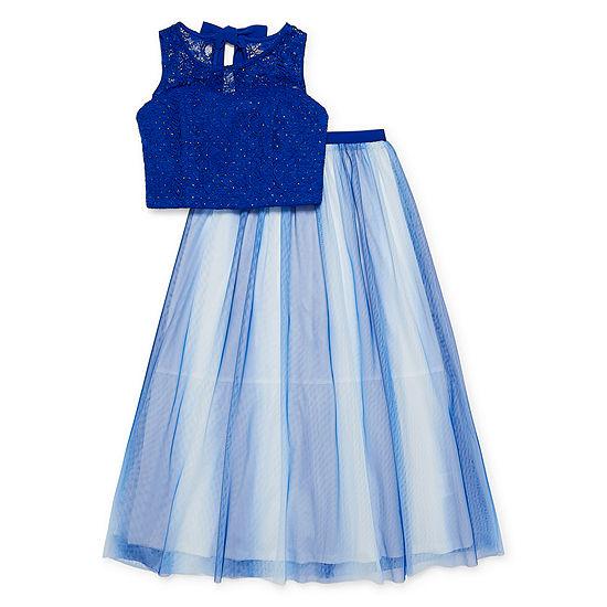 My Michelle Not Applicable Girls Sleeveless Dress Set - Big Kid