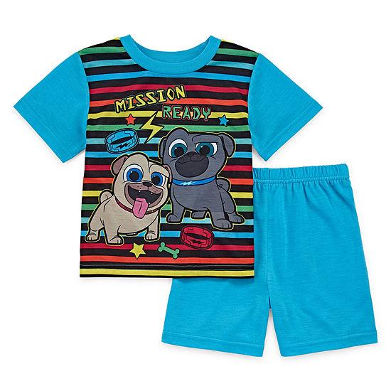 Disney 2 Pc Puppy Dog Pals Pajama Set Toddler Boys