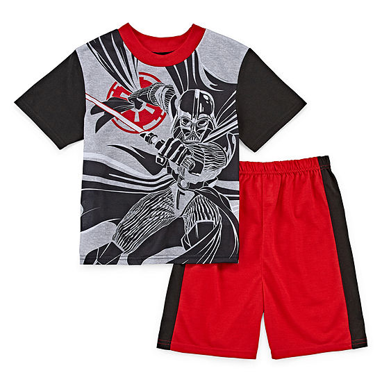 Little & Big Boys 2-pc. Star Wars Shorts Pajama Set