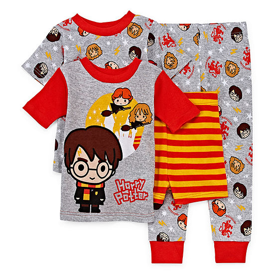 4-pc. Harry Potter Pajama Set Preschool / Big Kid Boys