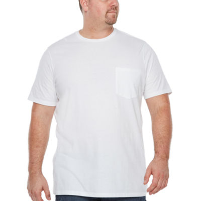 The Foundry Big & Tall Supply Co. Mens Short Sleeve Pocket T-Shirt-Big and Tall