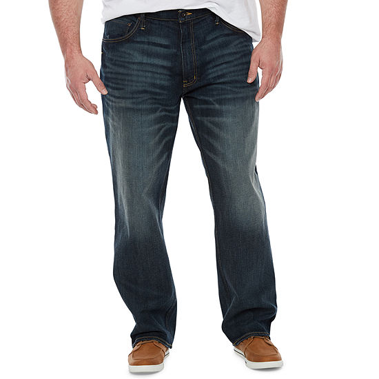 The Foundry Big & Tall Supply Co. Mens Straight Athletic Fit Jean