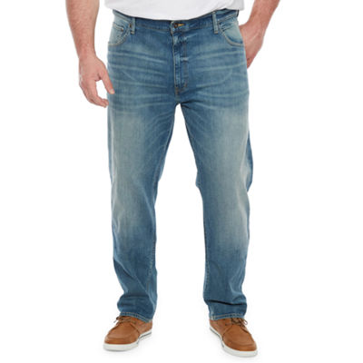 The Foundry Big & Tall Supply Co. Mens Straight Athletic Fit Jean-Big and Tall
