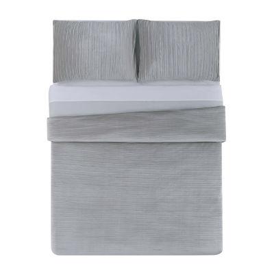 Christian Siriano Crinkle Luster Velvet 3-pc. Comforter Set