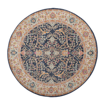 Safavieh Madison Collection Reno Oriental Round Area Rug