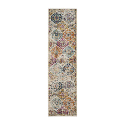 Safavieh Madison Collection Sally Geometric Runner Rug