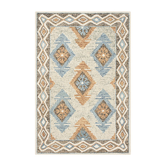 Safavieh Micro-Loop Collection Romeo Geometric Area Rug