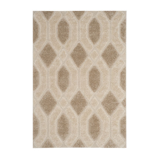 Safavieh Memphis Shag Collection Denton Geometric Area Rug