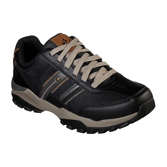 Skechers Relaxed Fit Mens Delwood Lace-up Oxford Shoes