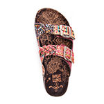 Muk Luks Womens Juliette Flat Sandals