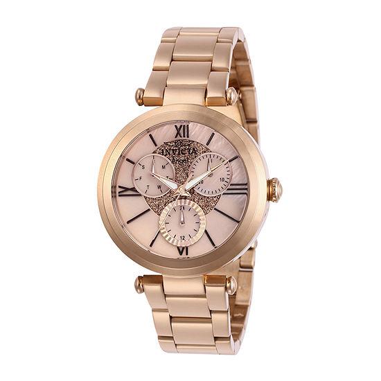 Invicta Womens Rose Goldtone Bracelet Watch-28928