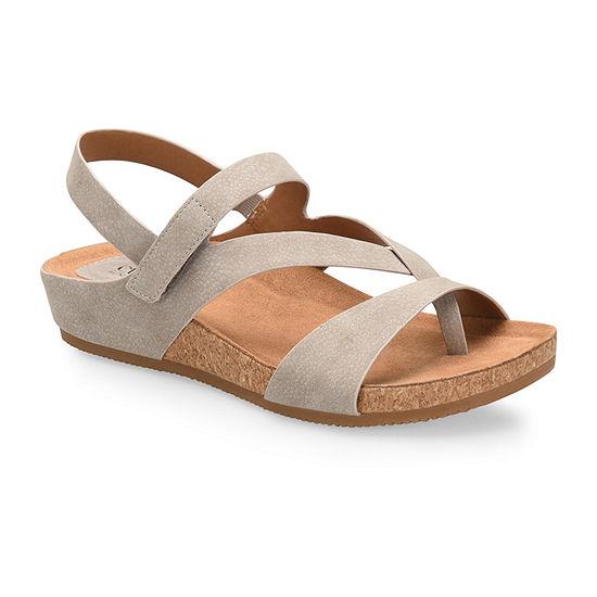 Eurosoft Gianetta Womens Adjustable Strap Footbed Sandals