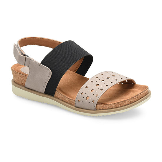 Eurosoft Layla Ii Womens Ankle Strap Footbed Sandals
