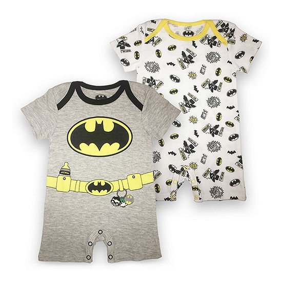 Short Sleeve Batman Romper Baby Boys