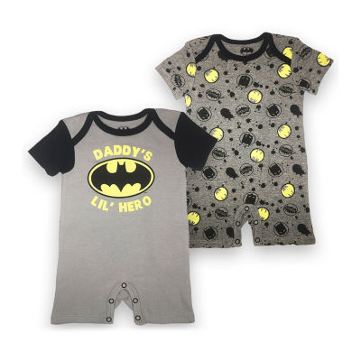 Short Sleeve Batman Romper Boys