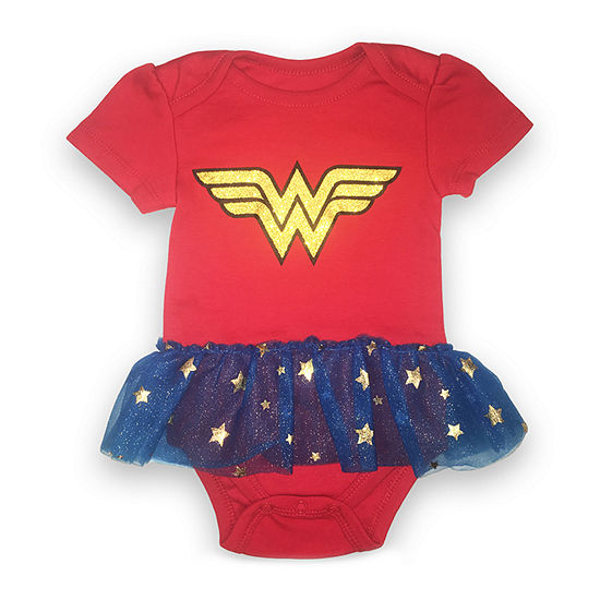 Wonder Woman Bodysuit Girls-Baby