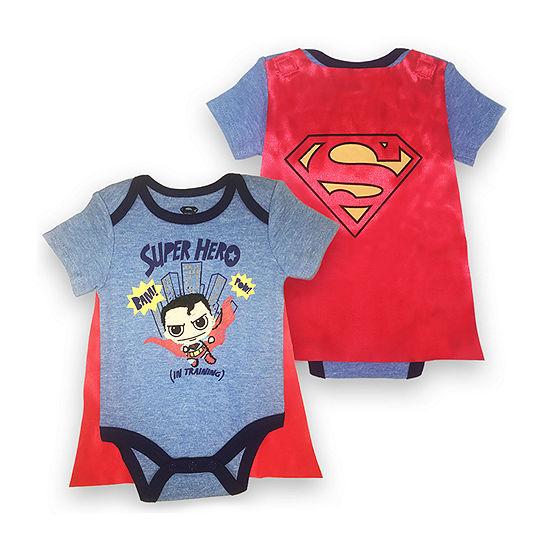 Superheroes Superman Bodysuit Boys-Baby