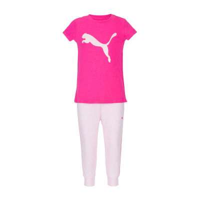 Puma 2-pc. Tonal Pant Set Girls