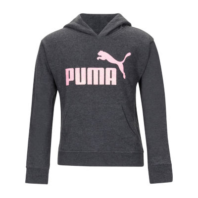 Puma Girls Hoodie-Big Kid