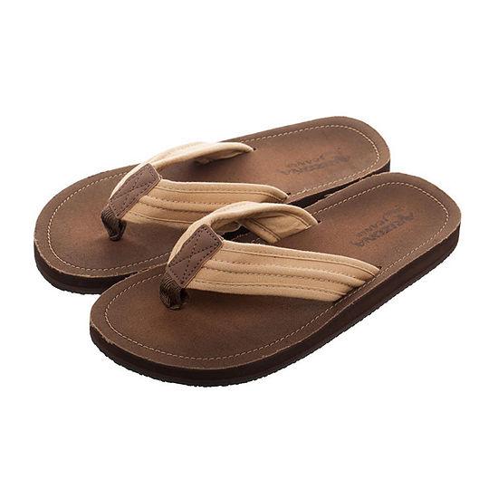 Arizona® Suede Flip Flops