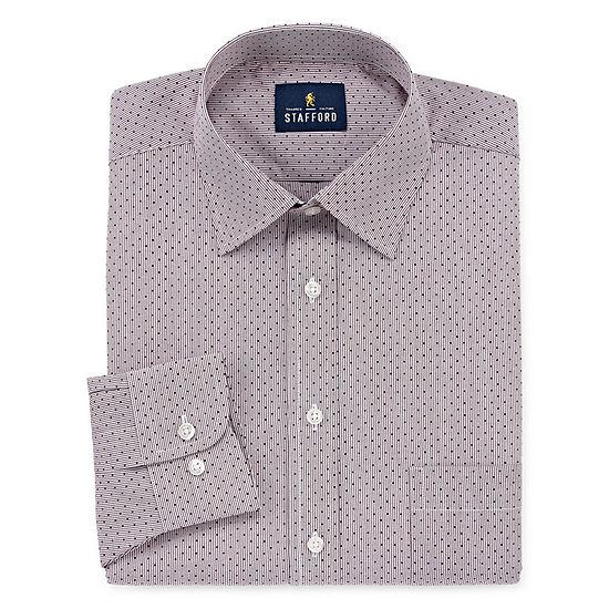 Stafford Men's Big & Tall Easy-Care Stretch Dress Shirt