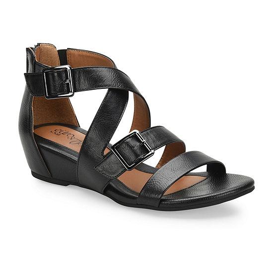 Eurosoft Womens Rishelle Wedge Sandals