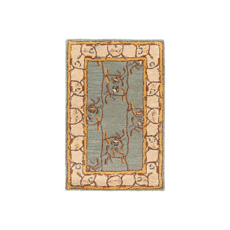 Decor 140 Hieral Rectangular Rugs, One Size , Green